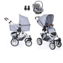 abc design wózek salsa 4 air 3w1 z fotelikiem avionaut pixel