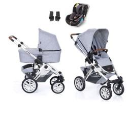 abc design wózek salsa 4 air 3w1 z fotelikiem avionaut kite+