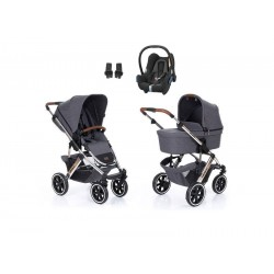 abc design wózek salsa 4 air diamond spacial edition 3w1 z fotelikiem maxi cosi cabriofix