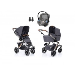 abc design wózek salsa 4 air diamond spacial edition 3w1 z fotelikiem cybex aton m