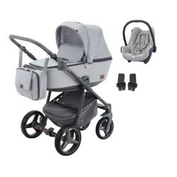 damex wózek reggio premium 3w1 z fotelikiem maxi cosi cabriofix