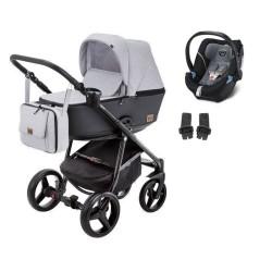 adamex wózek reggio premium 3w1 z fotelikiem cybex aton 5
