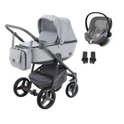 adamex wózek reggio premium 3w1 z fotelikiem cybex aton m