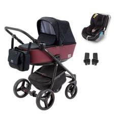 adamex wózek reggio premium 3w1 z fotelikiem avionaut kite