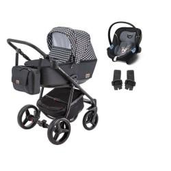 adamex wózek reggio deco 3w1 z fotelikiem cybex aton m