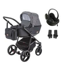 adamex wózek reggio deco 3w1 z fotelikiem besafe izi go