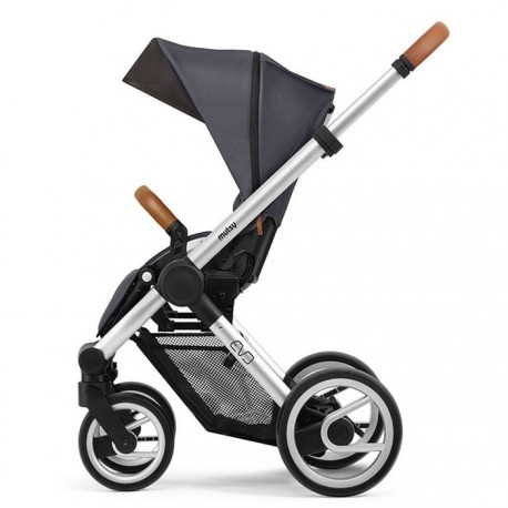 mutsy evo wózek spacerowy  urban nomad dark grey rama standard