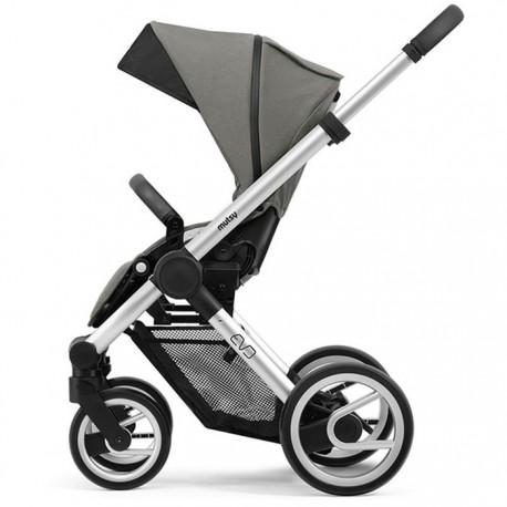mutsy evo wózek spacerowy bold dune grey rama standard