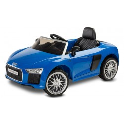 toyz audi r8 spyder pojazd na akumulator blue