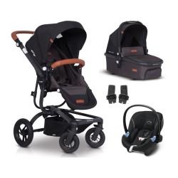 easy go soul air wózek 3w1 z fotelikiem cybex aton m i-size