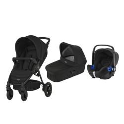 britax & romer wózek b-motion 4 + gondola + fotelik baby-safe i-size