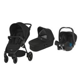 britax & romer wózek b-motion 4 + gondola + fotelik baby-safe plus shr ii