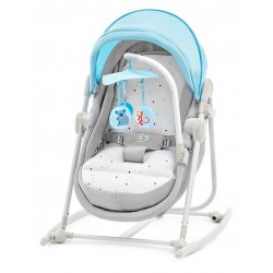 kinderkraft unimo leżaczek bujaczek 5w1 light blue