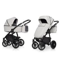 riko villa wózek 2w1 titanium