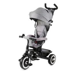 kinderkraft aston rowerek trójkołowy grey