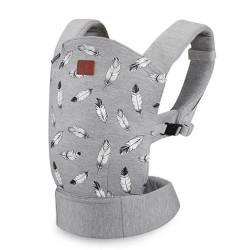 kinderkraft milo nosidełko ergonomiczne grey