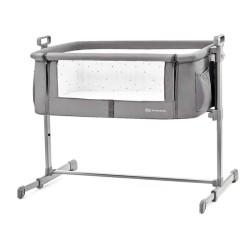 kinderkraft neste łóżeczko 2w1 grey