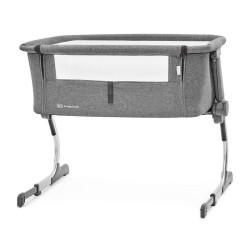 kinderkraft uno łóżeczko dostawne grey