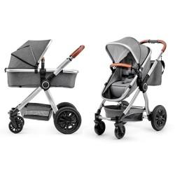 kinderkraft veo wózek 2w1 grey