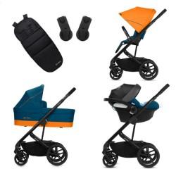 cybex balios s + aton m  wózek 3w1 zestaw promocyjny!
