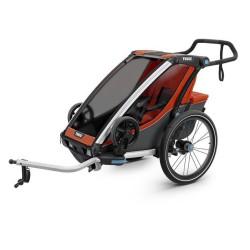 thule chariot cross 1 przyczepka rowerowa