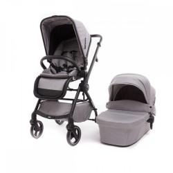 baby monsters marla wózek 2w1 helsinki black