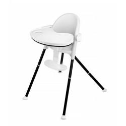 kinderkraft pini krzesełko do karmienia 2w1 white