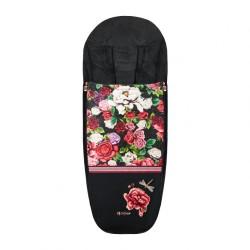 cybex footmuff spring blossom śpiworek do wózka priam,mios dark