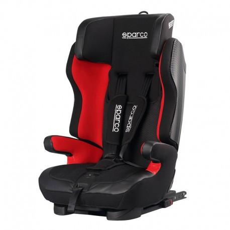 sparco sk700 fotelik samochodowy czarno-czerwony