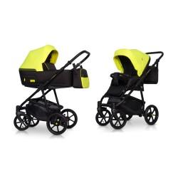 riko swift neon wózek 2w1 crazy yellow