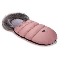 cottonmoose moose śpiworek do wózka różowy