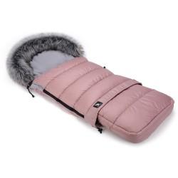 cottonmoose combi śpiworek do wózka różowy