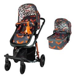 cosatto giggle quad wózek 2 w 1 charcoal mister fox
