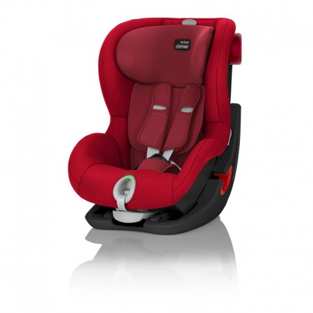 BRITAX & ROMER FOTELIK KING II LS FLAME RED BLACK