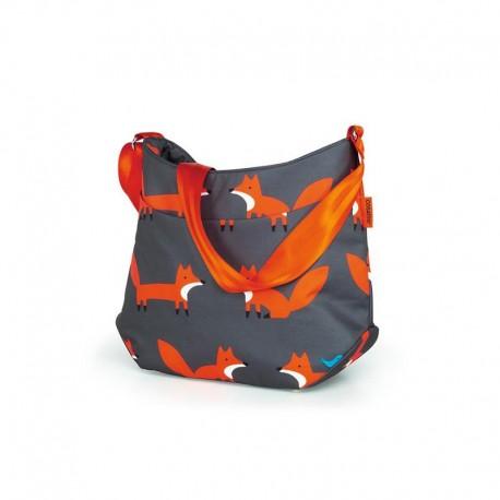 cosatto torba do wózka giggle/wow/woosh charcoal mister fox