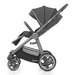babystyle oyster 3 wózek spacerowy pepper szary stelaż