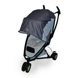 rollersy osłona przeciwsłoneczna do wózków denim blue