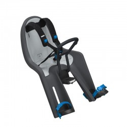 thule ridealong mini fotelik rowerowy ciemnoszary
