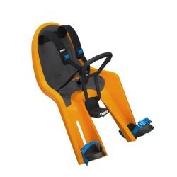 thule ridealong mini fotelik rowerowy pomarańczowy
