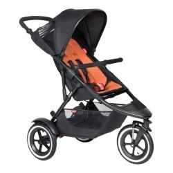 phil&teds sport wózek spacerowy pomarańczowy