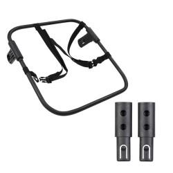 phil&teds adapter uniwersalny do fotelika samochodowego + adaptery przedłużające