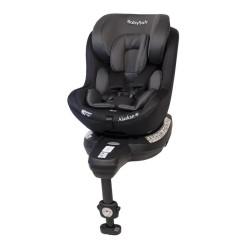 babysafe alaskan fotelik samochodowy szaro-czarny