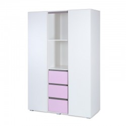 klupś szafa 3-segmentowa dalia pink