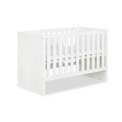 klupś łóżko amelia 120x60 biała