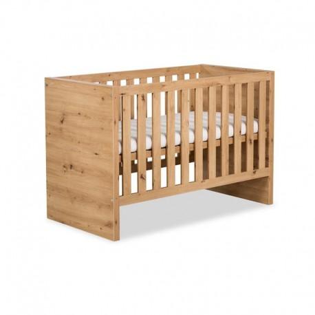 klupś łóżko amelia 120x60 dąb