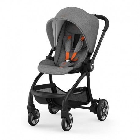 KIDDY WÓZEK EVOSTAR LIGHT 1 SAFE ORANGE