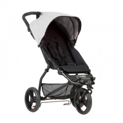 mountain buggy wózek mini srebrny promo