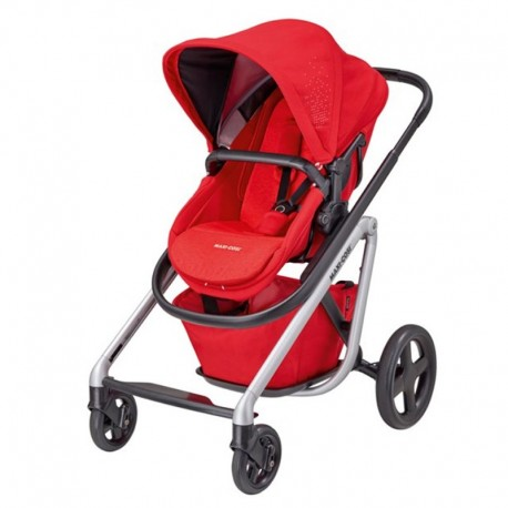 maxi cosi lila wózek spacerowy nomad red