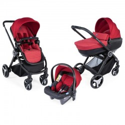 chicco trio best friend comfort wózek 3w1 red