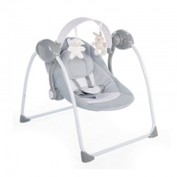 chicco relax&play huśtawka cool grey